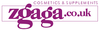 Zgaga.co.uk Cosmetics and Supplements Logo