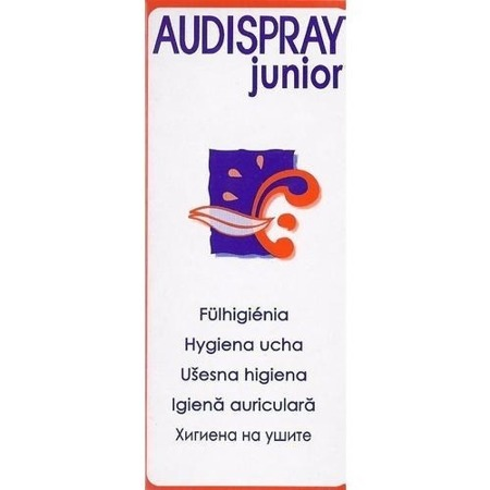 AudiSpray Junior Ear Spray Removing Wax 25ml
