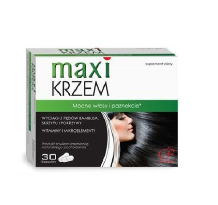 Colfarm Maxi Silicon For Strong Hair and Nails 30 Capsules