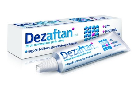 Dezaftan Gel for Mouth Ulcers 8g