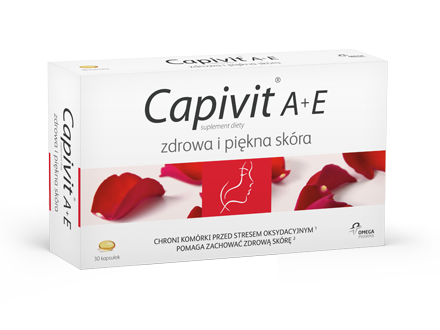 Dietary Supplement Capivit A + E Healthy And Beautiful Skin 30 capsules