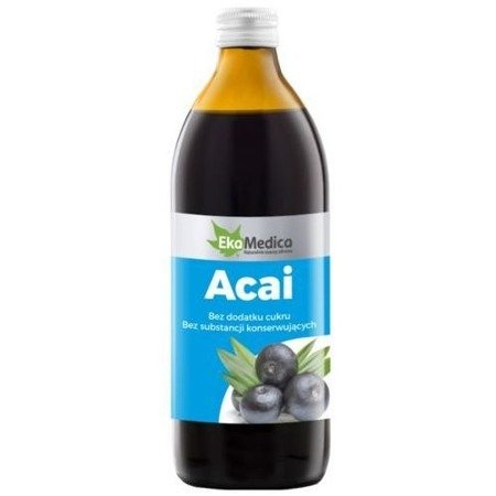 EkaMedica Acai Berry Juice 100% Natural 500ml