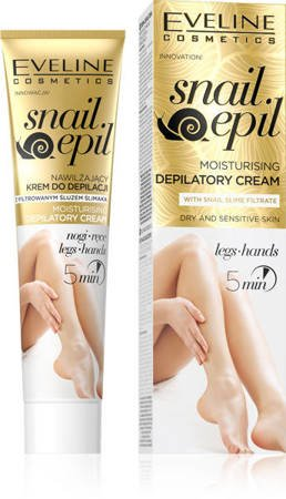 Eveline Snail Epil Moisturizing Cream For Depilation With Snail Slime Filtrate 125ml
