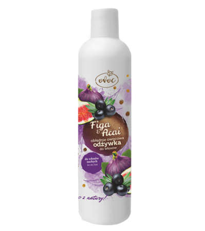 Hair conditioner for dry hair FIGA AND BERRY ACAI 300 ml