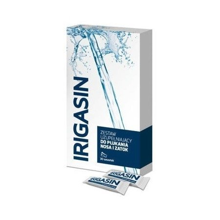 Irigasin Subsidiary Set for Nose and Sinuses Cleansing 30 Sachets