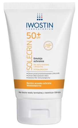 Iwostin Solecrin Sunscreen Lotion SPF 50 Sensitive Skin 100ml