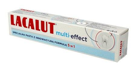 Lacalut Multi Effect 5in1 Toothpaste for Sensitive Teeth 75ml