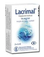 Lacrimal Moisturizing Eye Drops 2x5ML