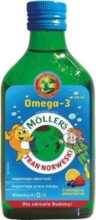 Mollers Cod-liver Oil Norwegian Fruit-Flavored 250 ml