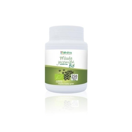 MyVita Young Barley BIO in Tablets 250 pcs
