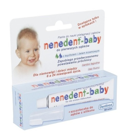 NENEDENT BABY Toothpaste and Toothbrush FOR CHILDREN