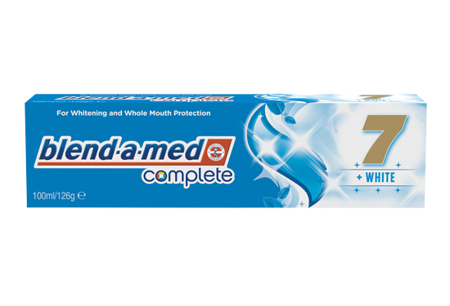TOOTHPASTE BLEND-A-MED COMPLETE 7 WHITE 100ML