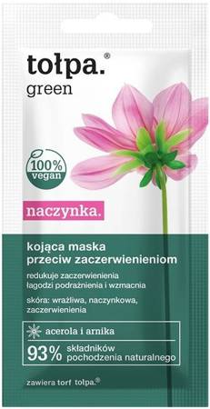 Tołpa Green  dishes Soothing mask against redness 8 ml