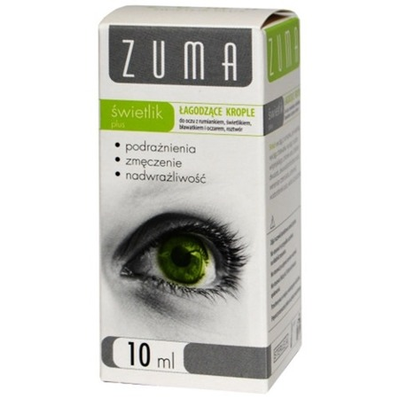 ZUMA  SKYLIGHT PLUS  EYE DROP10 ML refreshing and soothing properties
