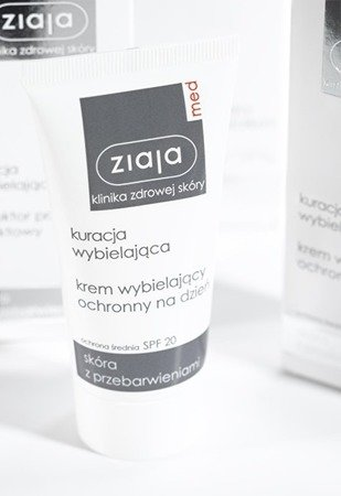 Ziaja Med Protective Whitening Day Cream for Skin with Doscolorations 50ml